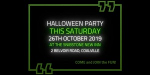 The Snibston New Inn Halloween 2019